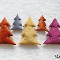 Christmas tree pillow pattern